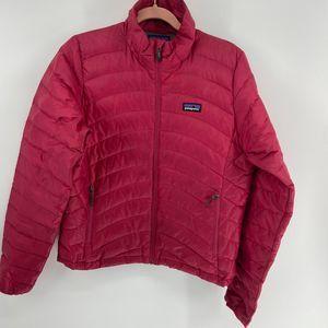 Patagonia Pink Nano Goose Down Winter Jacket